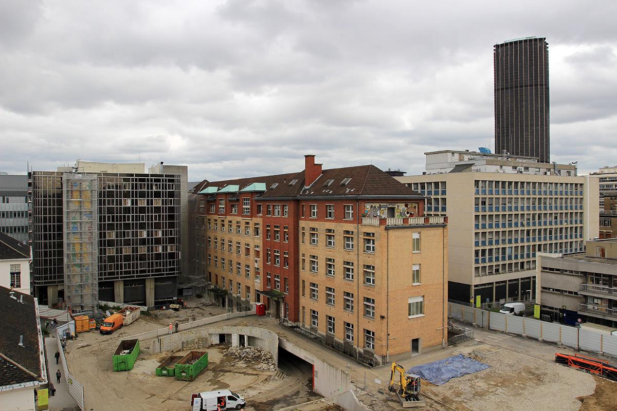 construction time lapse paris