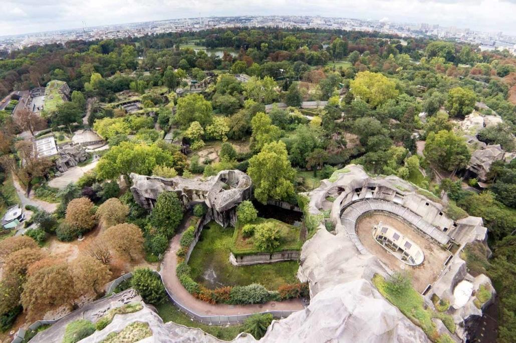 Time Lapse du Parc Zoologique de Paris