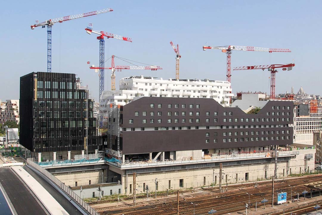 Time Lapse de chantier eco-quartier