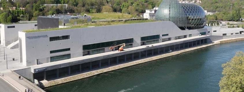 Time Lapse du chantier de la Seine Musicale