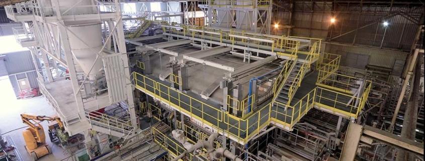 time lapse chantier usine