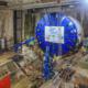 time lapse de chantier tunnelier grand paris